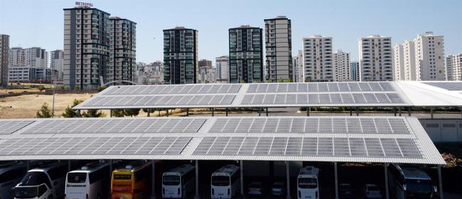 güneş enerjili otogar