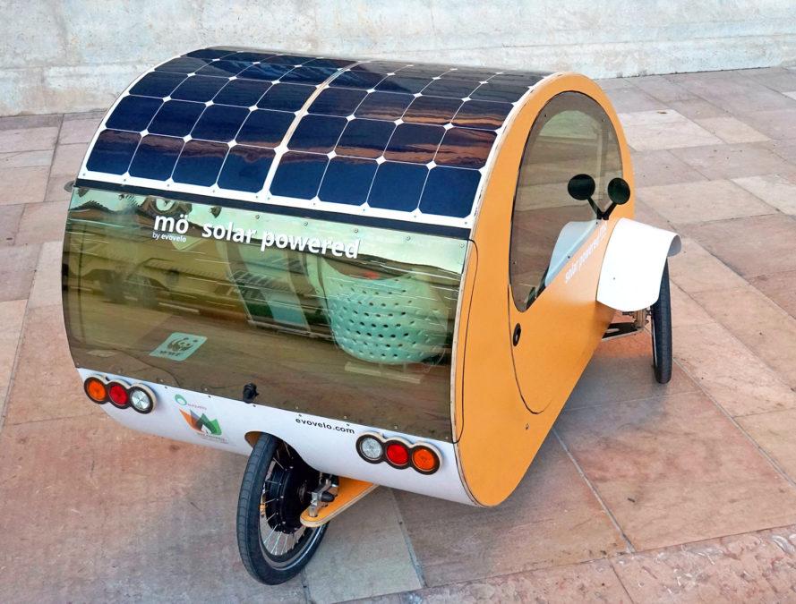 güneş panelli araba