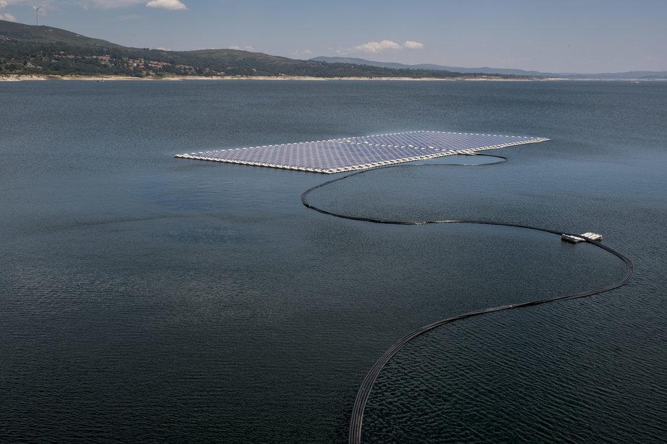 hidro güneş santrali portekiz