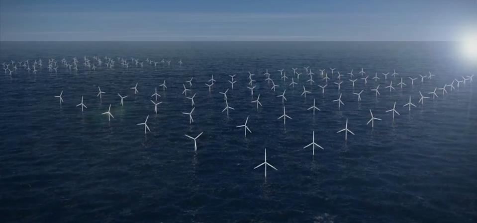 hollanda deniz rüzgar çiftliği