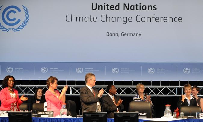 birleşmiş milletler iklim degisikligi konferansı