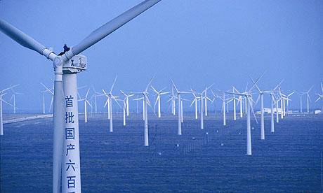 çin rüzgar enerjisi