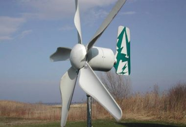ev yapımı rüzgar türbini