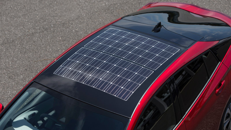 güneş enerjili otomobil
