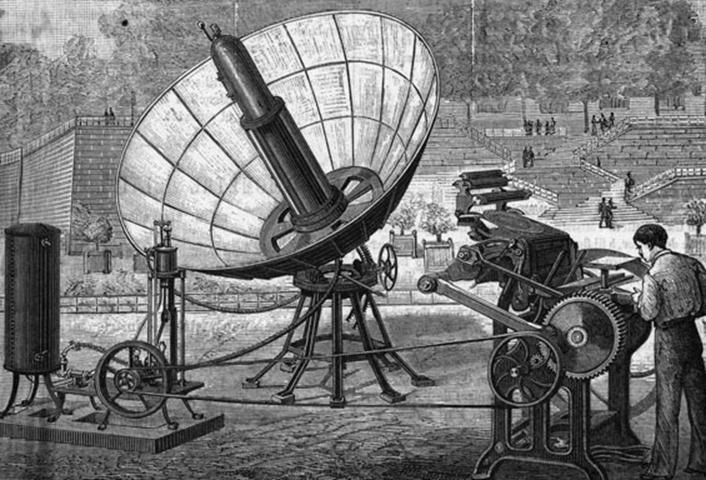 güneş enerjisinin tarihi