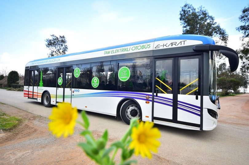 izmir elektrikli otobüs