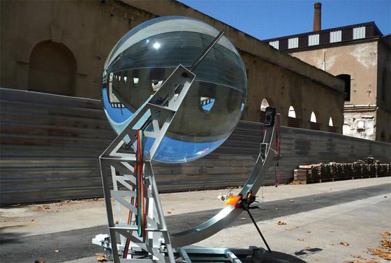 küre güneş enerjisi jeneratörü