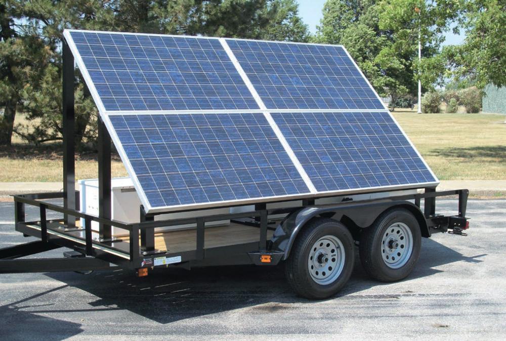 mobil güneş jeneratörü