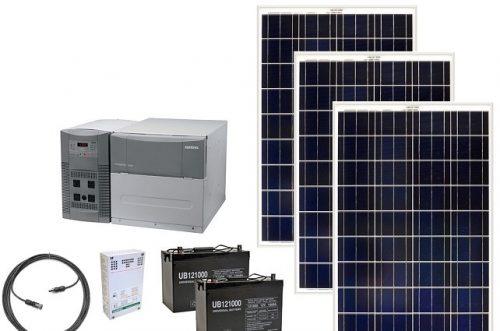 paket güneş jeneratörü
