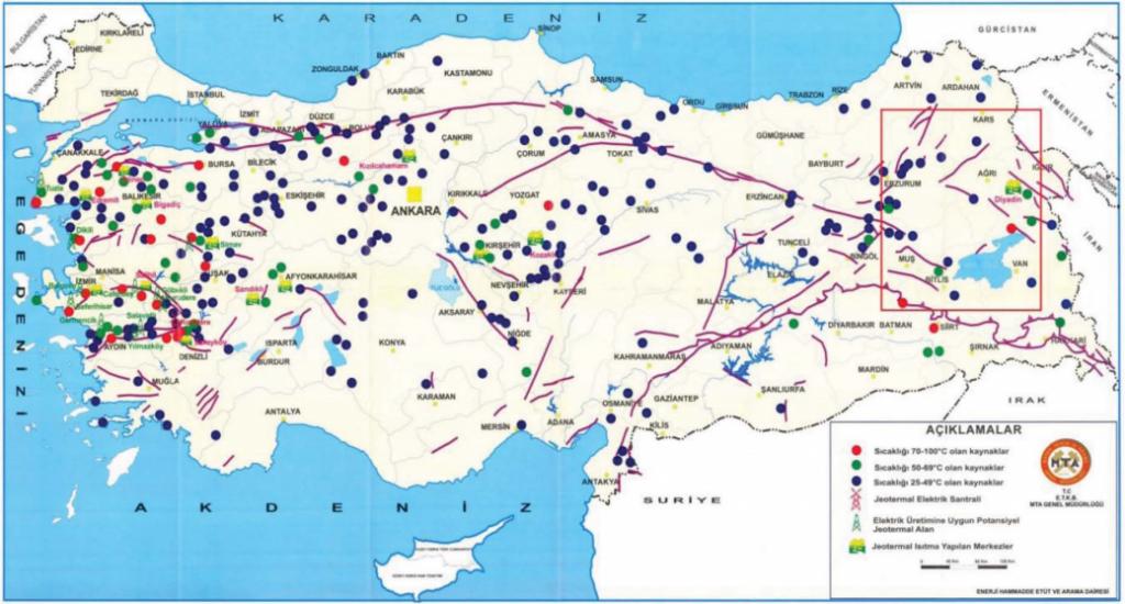 türkiye jeotermal kaynaklar