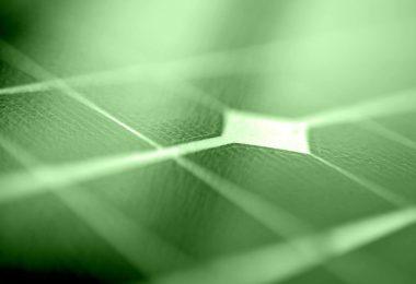 yeşil güneş paneli