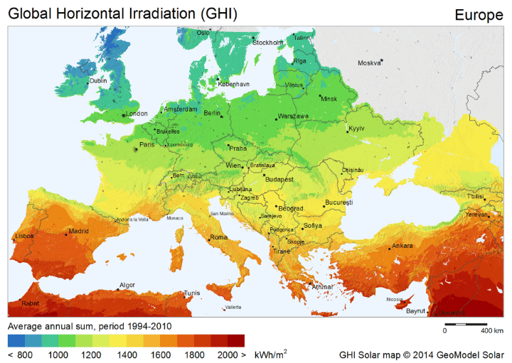 T 252 Rkiye De G 252 Neş Enerjisi Potansiyeli Ekolojist Net