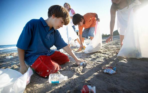 deniz temizliği