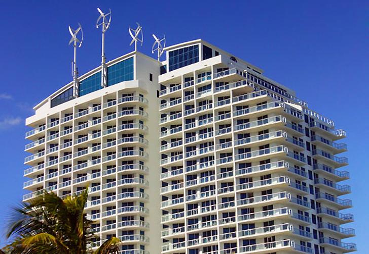 rüzgar türbini sürdürülebilir mimari