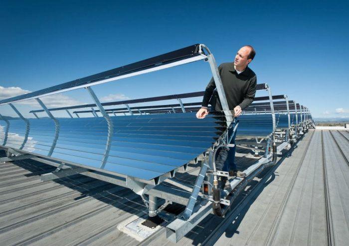 termal güneş paneli