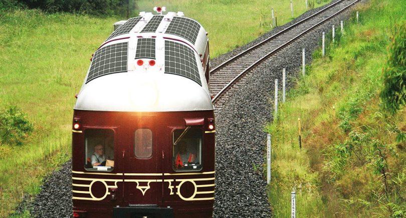 güneş enerjisi tren