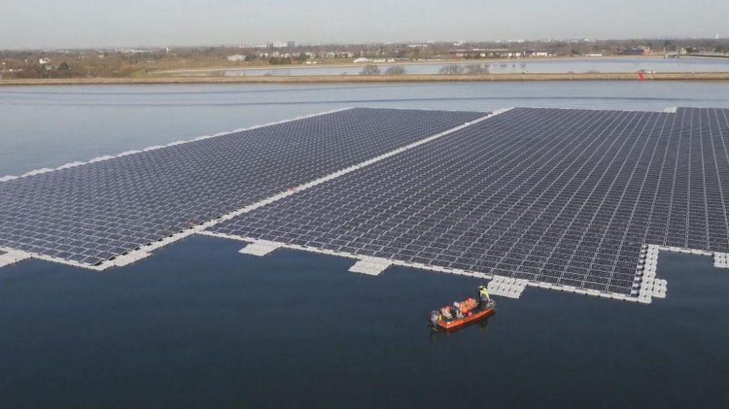 yüzer güneş paneli