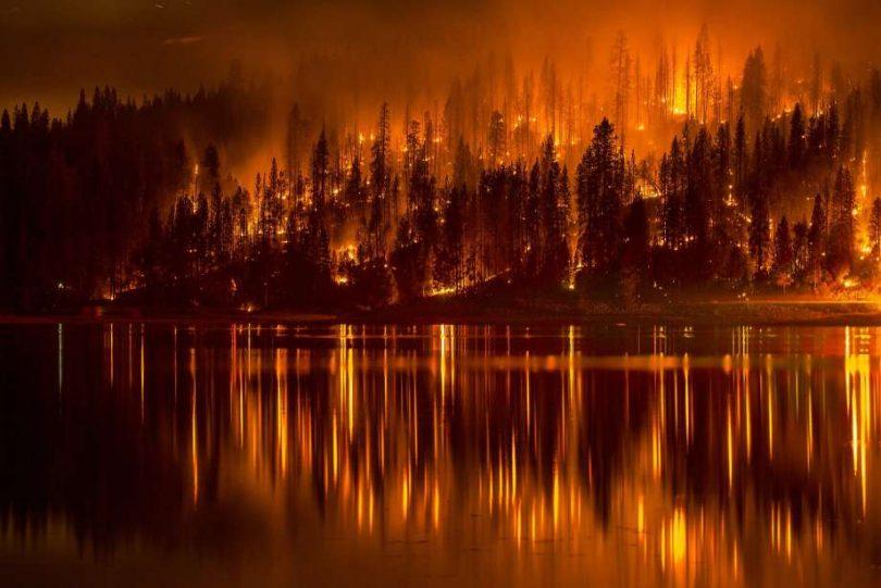 iklim değişikliği yangın