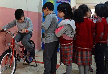 bisikletten elektrik üretimi