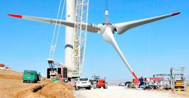 rüzgar santrali kurulumu