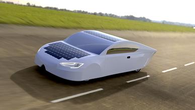 güneş enerjisi ile çalışan araba