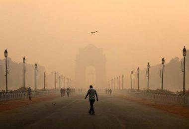 yeni delhi hava kirliliği