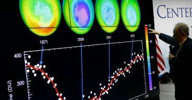 ozon deliği küçülüyor