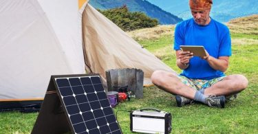 taşınabilir güneş paneli