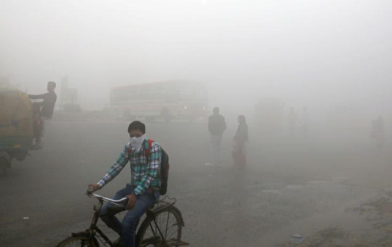 hindistan hava kirliliği