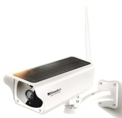 güneş enerjili kamera